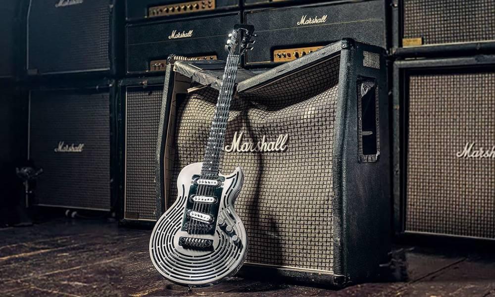 Metal 3D printing: Meet the indestructible guitar