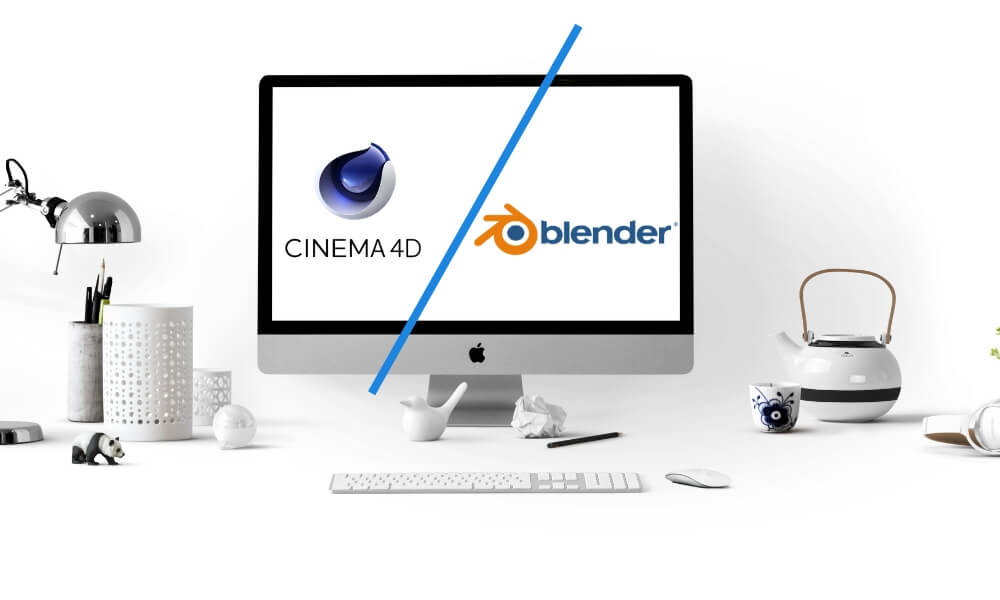 Battle of software: Cinema 4D vs Blender