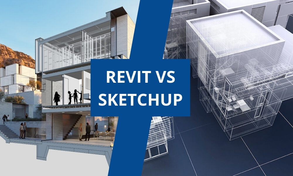 Battle of architecture software: Revit vs Sketchup
