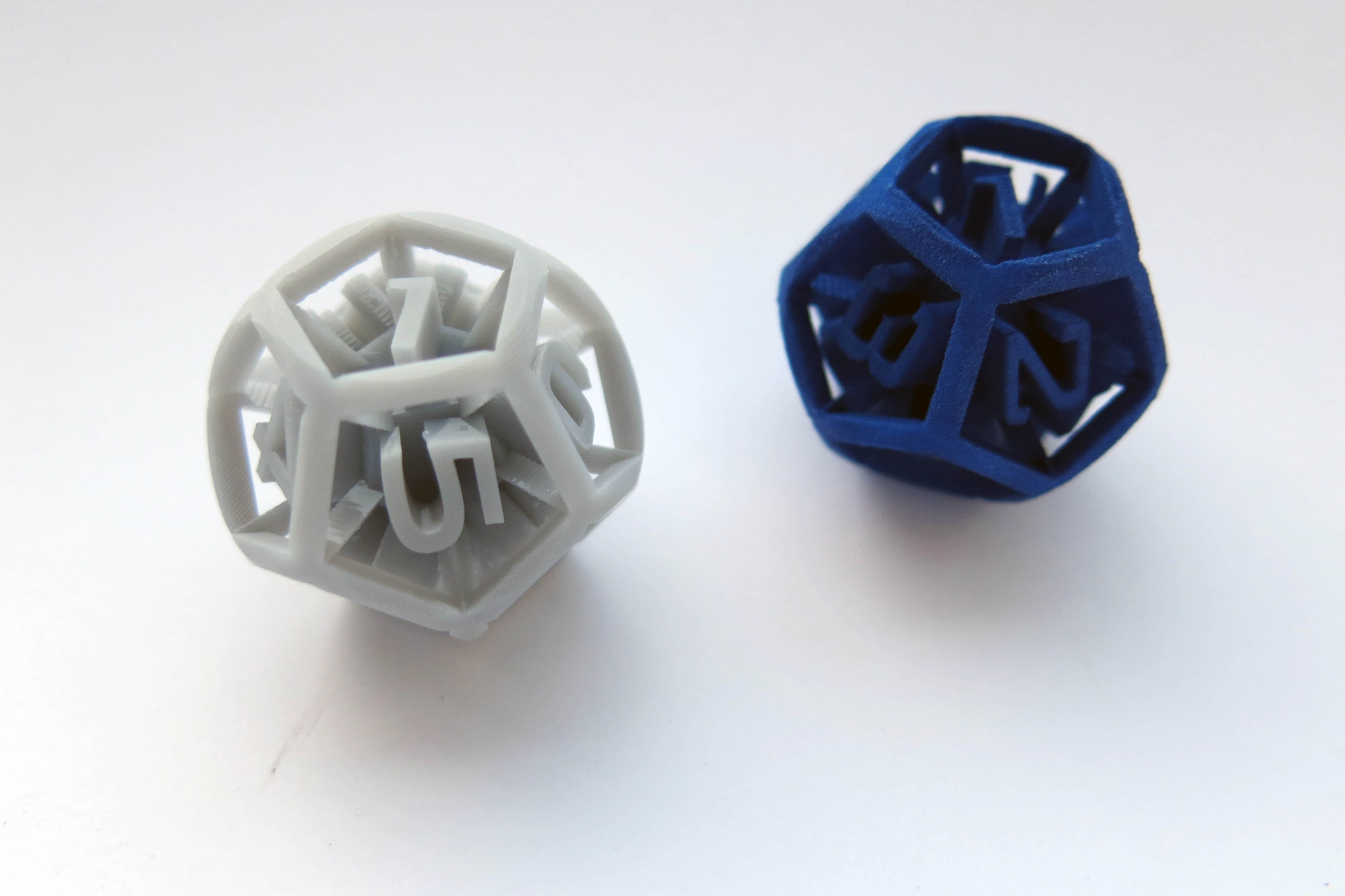 3D printing technology: SLA vs SLS