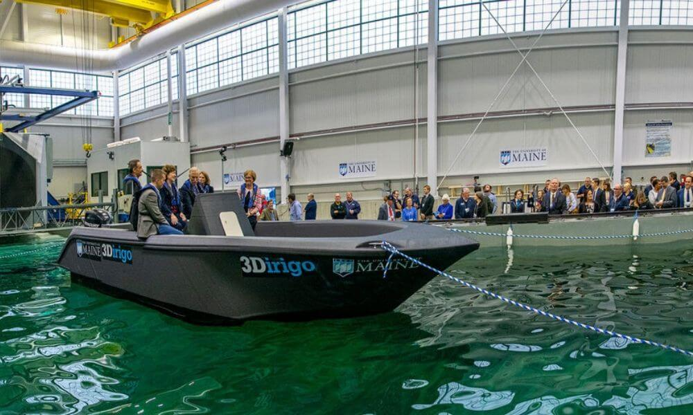 Have you heard about the 3D printed boat?
