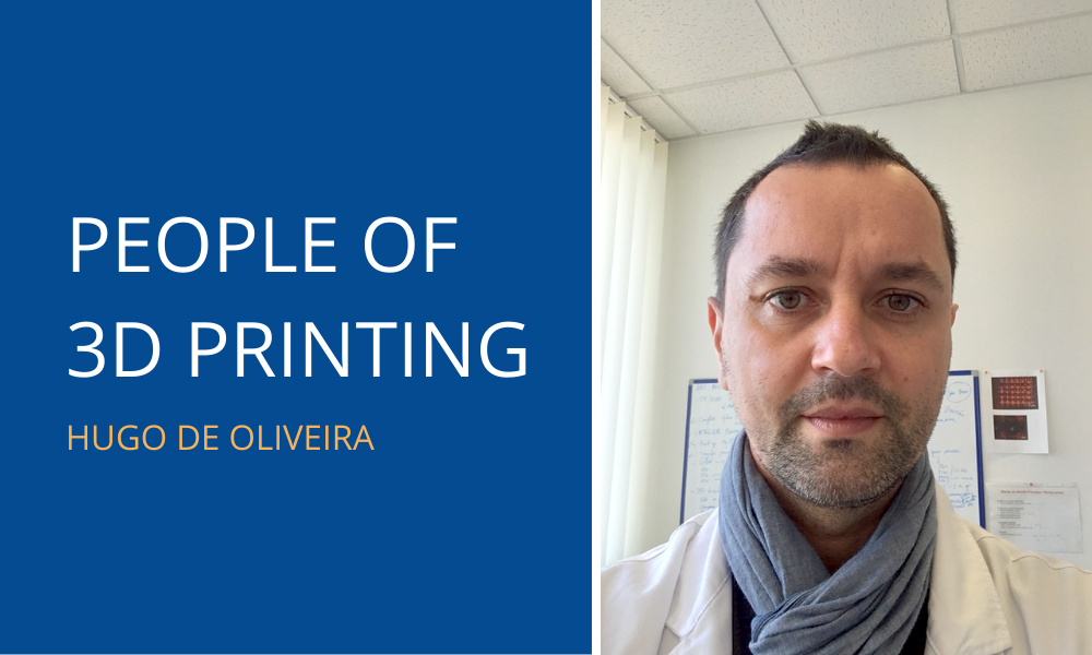 People of 3D Printing: Hugo de Oliveira