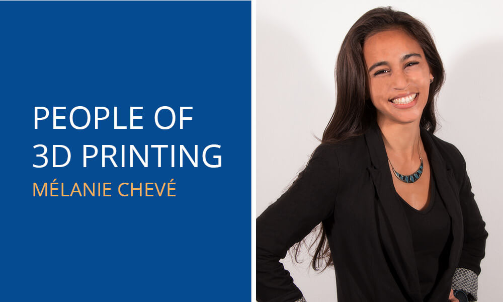 People of 3D Printing: Mélanie Chevé
