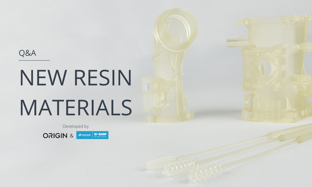 ORIGIN resin materials: discover them with this Q&A.