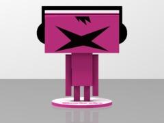 Beatrobo Figure: BATSU