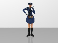 PLA Women Soldier - Airforce Guard of Honor 1/20