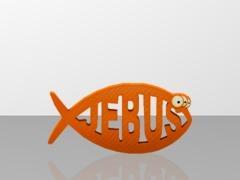MF_Jebus Fish sculpBlack