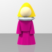 tinkercad tinker of a lady 2