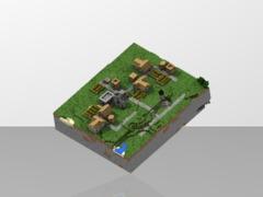 Minecraft big NPC village