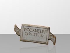 P. Cornelius - Synistor Inscription