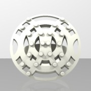 Crisscross Ring - Round - Size 7