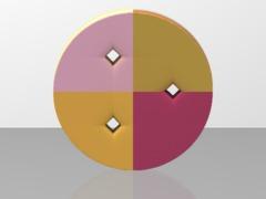 TripleDiskTorusimplicit_squareholes