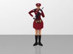 PLA Women Soldier - Militia Guard of Honor 1/20
