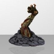 Zombie Arm with color