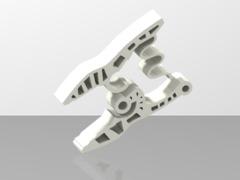 Simple 2 piece clamp