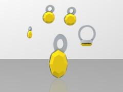 lara citron jewelry set