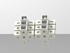 4-Way Cross Micro Bracket (6 Pack)