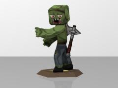 Zombie&Axe BDcraft