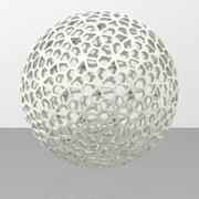 Floral Pattern Sphere
