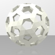 Football Holes Sphere