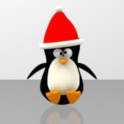 Cute Penguin - Merry Christmas
