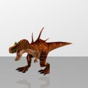 Tyrannosaurus rex or T-Rex - Dinosaur
