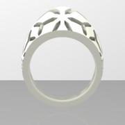Snowflake Ring Size 8
