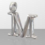 M letter Pendant