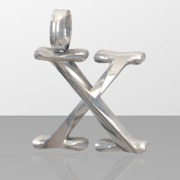 X Letter Pendant