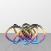 cliffordKnot_trefoil_perpendiculars