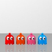 Pac-Man's looped ghosts 4pack