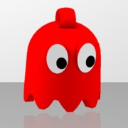 Red Ghost with loop