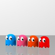 Pac-Man's ghosts 4pack