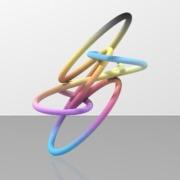 Seifert_fibrationtetrahedron_pqneg1_3_Torus