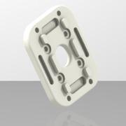 support moteur Brushless pour bras de 15mm