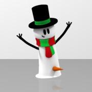 Snowman Carrot For a C*ck