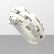 Bague Lost City taille 48