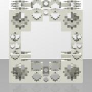 BarrereLSystem_3gapSymmetryCrossMengerCubeLevel2.ply