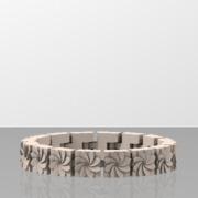 16 marguerites en bracelet