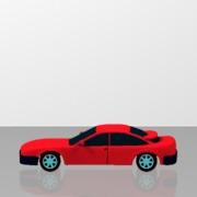 Car color modeling red