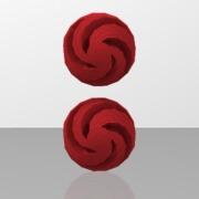 boucles d'oreille boule