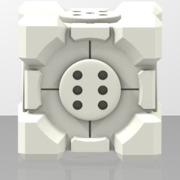 Portal Companion Cube DICE (Solid)