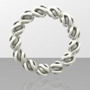 Bracelet Twisted Mesh 2