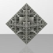 Pyramid Fractal - Seven Iterations