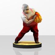 Sexy Fire Mario Amiibo