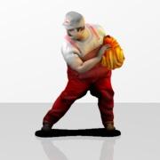 Sexy Fire Mario Figure