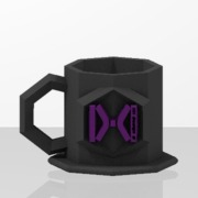 Coffee CUP - Liquid Harmonize - (Alpha Version) IXIISIS Design ®