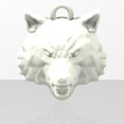 Médaillon Tête de Loup