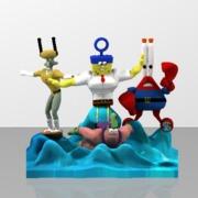 SpongeBob SquarePants Characters Game Ready