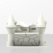 Castello curato nei mini particolari leggero